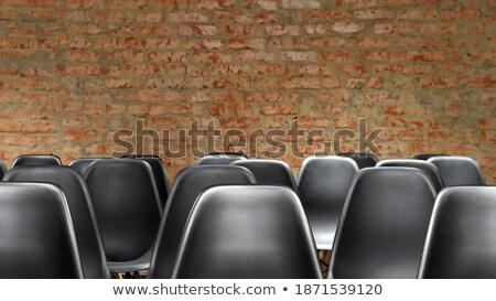 sandalye · boş · tanıtım · salon · odak - stok fotoğraf © Paha_L