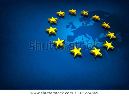 grunge flag of european union stock photo © lizard
