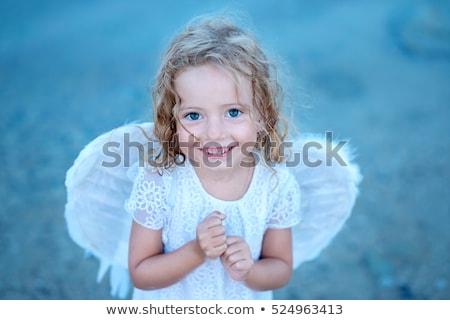 天使 · 少女 · 下着 · 翼 · 明るい · 画像 - ストックフォト © pawelsierakowski
