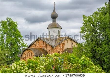 教会 空 夏 寺 信仰 屋外 ストックフォト © SergeyAndreevich