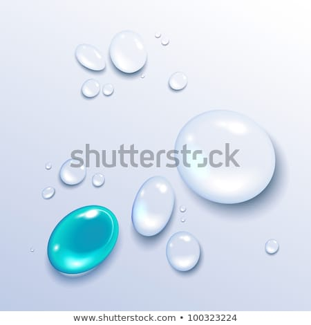 drops of water eps 10 stock photo © beholdereye