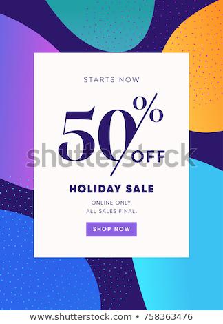 50% Off Stock photo © idesign