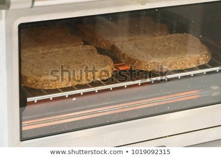 Elettrici forno tostato pane illustrazione sfondo Foto d'archivio © bluering