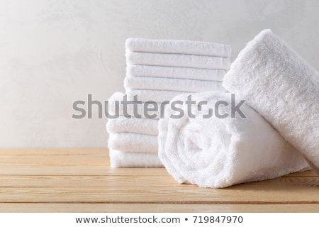 Pile of towels Stock photo © Digifoodstock