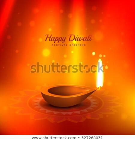 Frumos diwali lumina razele vector proiect Imagine de stoc © SArts