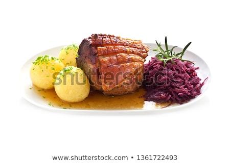 caseiro · almoço · refeição · prato - foto stock © vertmedia