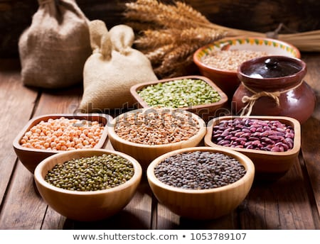raw cereals and lentils Stock photo © M-studio