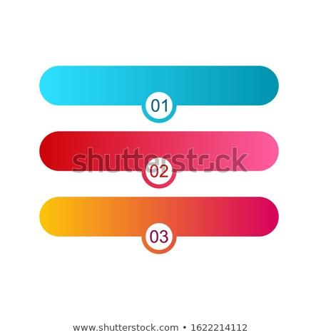 Gebruiker ondersteuning ontwerpsjabloon kleurrijk pijlen Stockfoto © masay256