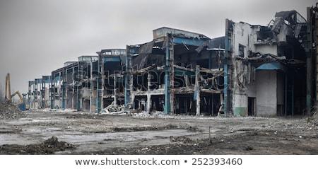 Abandoned window building Stock photo © luissantos84
