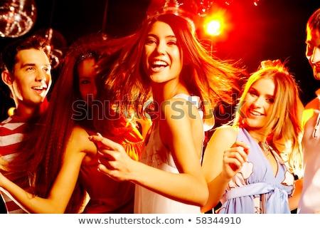 Portret szczęśliwy kobieta taniec nightclub młoda kobieta Zdjęcia stock © wavebreak_media