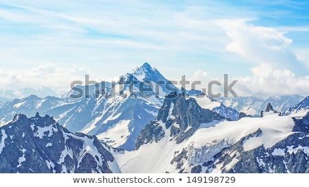 volcanique · montagne · nuages · Alaska · péninsule · nature - photo stock © wildnerdpix