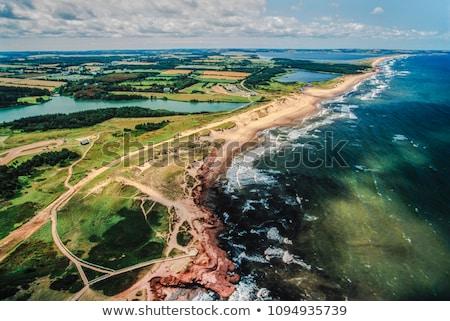 Playa isla del príncipe eduardo foto costa Canadá Foto stock © sumners