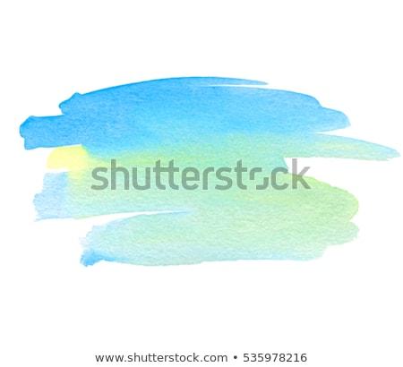 Mavi yeşil pastel hat eğim Stok fotoğraf © cammep