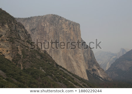 Cloudy day El Capitan Stock photo © bobkeenan