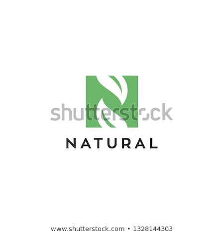 手紙 ロゴ アイコン ベクトル 緑 黒 ストックフォト © blaskorizov