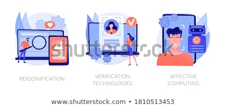Gesture recognition concept vector illustration. Stock photo © RAStudio
