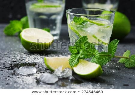 Menta cocktail mojito rum calce Foto d'archivio © grafvision