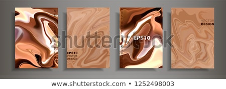 csokoládé · vektor · minta · kéz · rajz · kézzel · rajzolt - stock fotó © netkov1