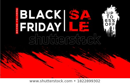 Sale -65 percent. Banner for discount, sale. Design of poster Stock photo © FoxysGraphic