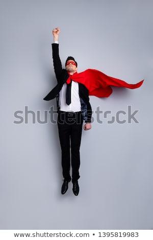 Superhero Businessmen Wearing Cloaks Isolated Stock photo © robuart