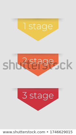 Abstract infographics opties aantal workflow sjabloon Stockfoto © SArts