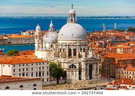 Venice. Aerial view of the Venice with Basilica di Santa Maria d Stock photo © ShustrikS