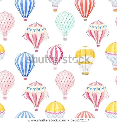 набор воздушный шар животного вектора прибыль на акцию Сток-фото © rwgusev