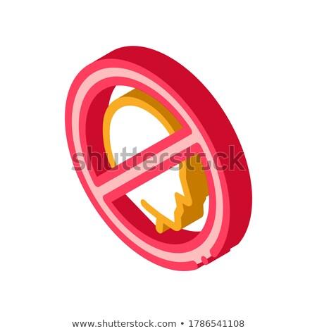 禁止 性格 アイソメトリック アイコン ベクトル にログイン ストックフォト © pikepicture