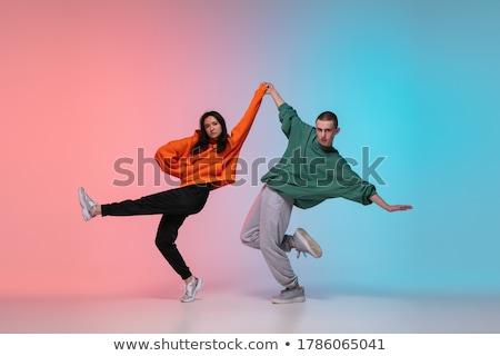 tangó · gyönyörű · táncosok · előad · csekk · hasonló - stock fotó © blanaru