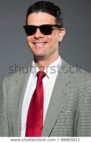 Man wearing dark sunglasses Stock photo © photography33