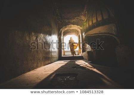 Dark tunnel in Amber Fort , Jaipur Stock photo © calvste