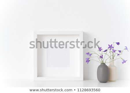 Empty portrait frame Stock photo © broker