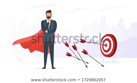 nyíl · fehér · halott · fickó · szív · 3d · illusztráció - stock fotó © drizzd