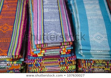 Banderą cap asia turystycznych turystyki Zdjęcia stock © travelphotography