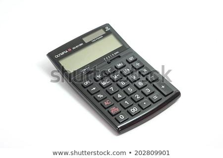 изолированный · кармана · калькулятор · числа · pi · белый - Сток-фото © wavebreak_media