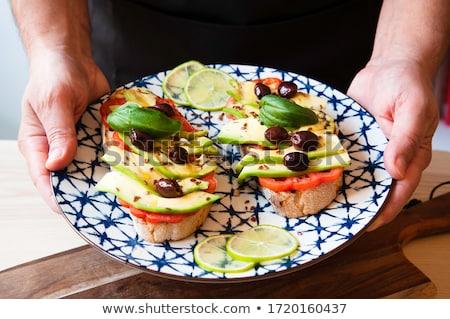 Eating olive Stock photo © stevanovicigor