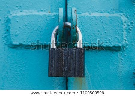 Rusted security lock Stock photo © Bertl123