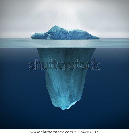 Mirrored Iceberg Stock photo © Imagix