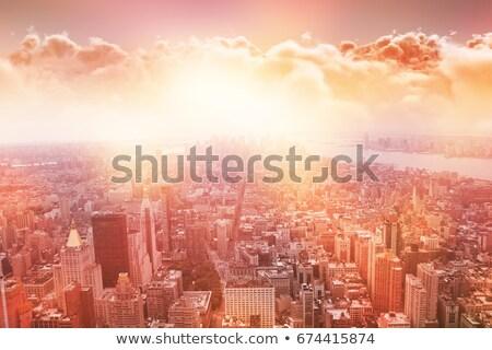 Cloudscape during sunset Stock photo © leungchopan
