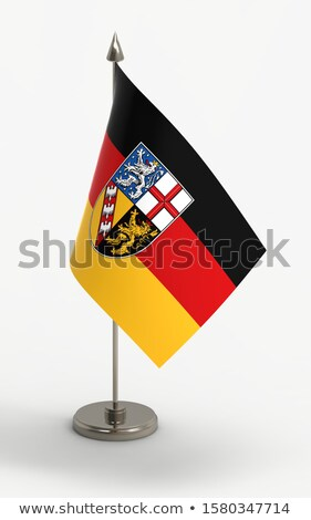 Miniature Flag of Saarland stock photo © bosphorus