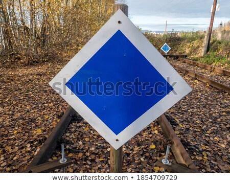 Rusty tierra estructura borroso abandonado Foto stock © meinzahn