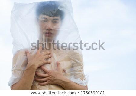 Plastic Bag on Head Stock photo © blamb