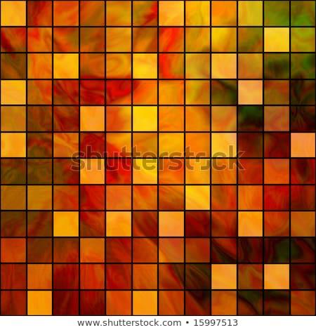 cascalho · verde · vidro · cor · textura · mosaico - foto stock © jarin13