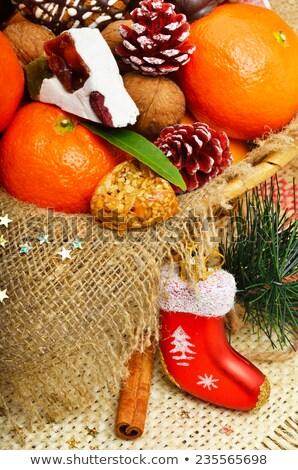 сушат мешок сосна Рождества украшение Сток-фото © mady70