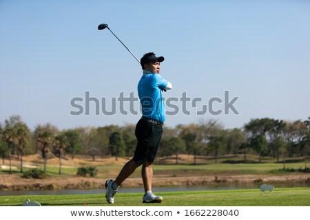 Сток-фото: гольф · выстрел · драйвера · фото · мяч · для · гольфа