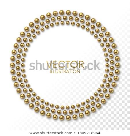 飾り 真珠 実例 テクスチャ 背景 ストックフォト © yurkina