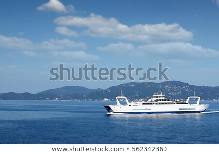 Balsa barco ilha Grécia água verão Foto stock © goce