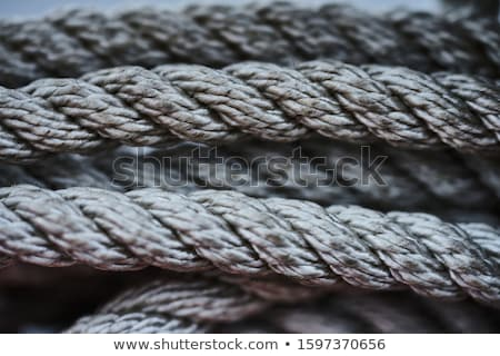 Foto stock: Barco · corda · cordas · velho · navegação