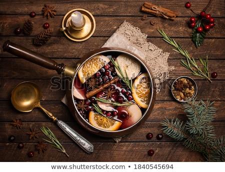 звездой · анис · корицей · Рождества · время · кухне - Сток-фото © zerbor
