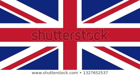 Egyesült Királyság Fidzsi-szigetek zászlók puzzle izolált fehér Stock fotó © Istanbul2009